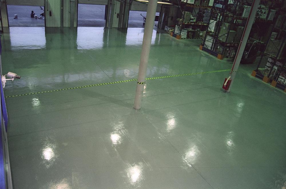 Обеспыливающее покрытие для бетонного пола