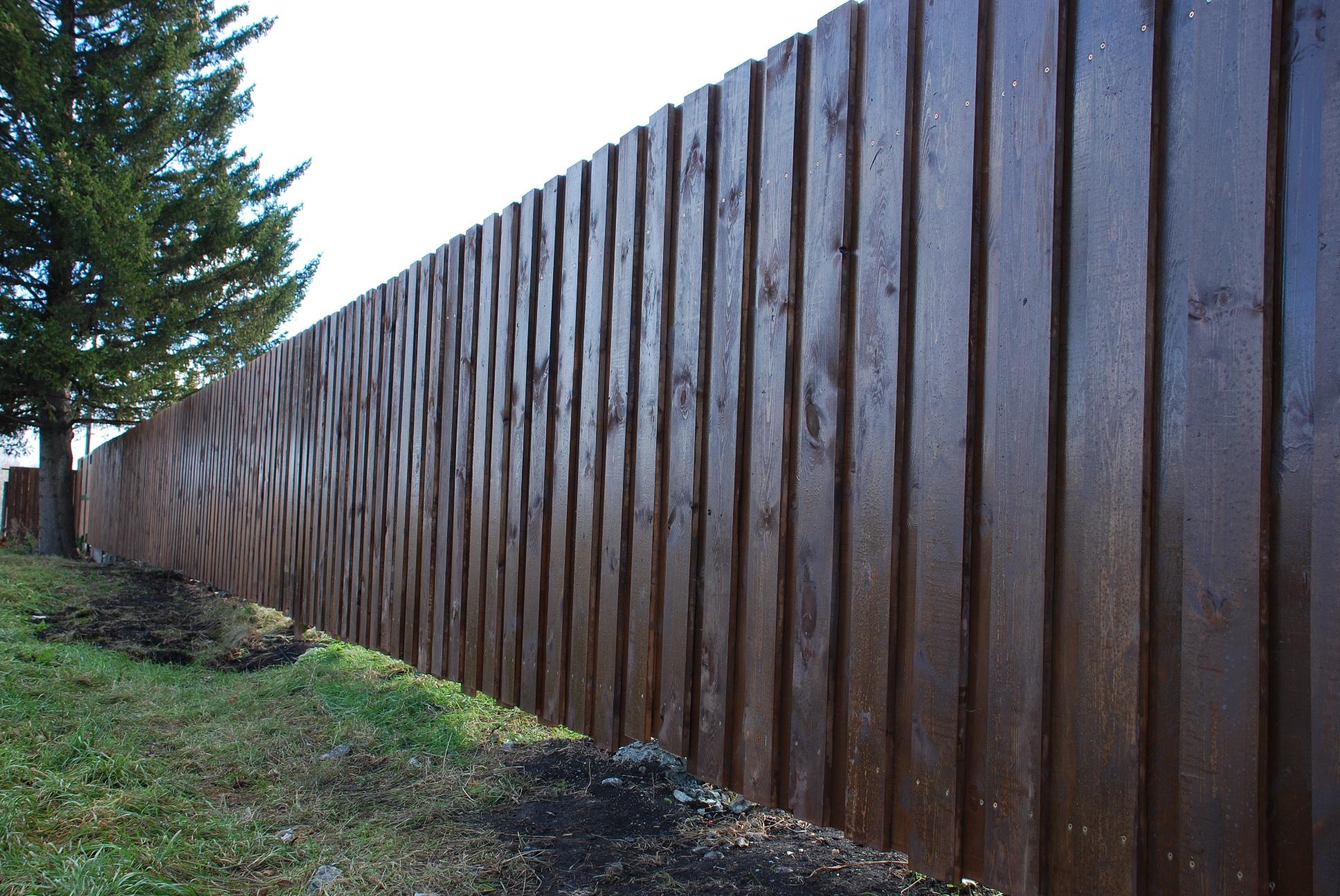 Биозащита для деревянной изгороди