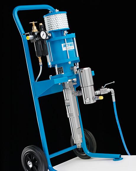 Окрасочный аппарат безвоздушного распыления WIWA PHOENIX